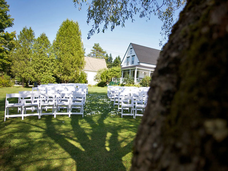 Weddings at Anchorage House